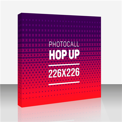 Photocall Hop Up 3x3