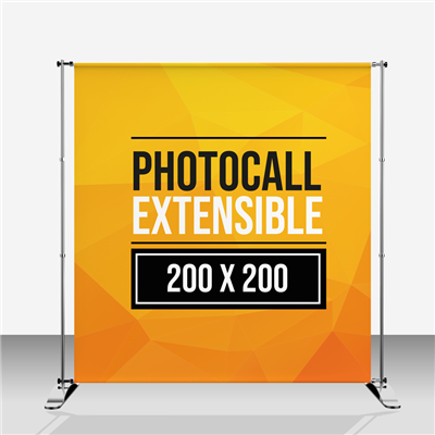 Photocall Extensible 200x200