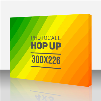 Photocall Hop Up 4x3